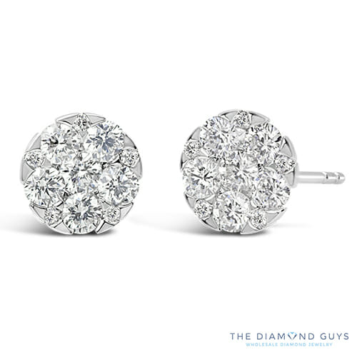 Diamond Earrings The Guys Collection