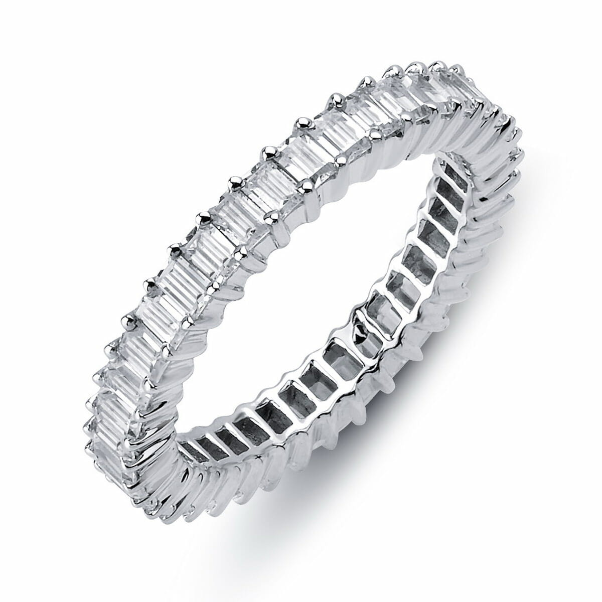 collection bands ring baguette platinum band diamond image half the wedding raphael cut eternity