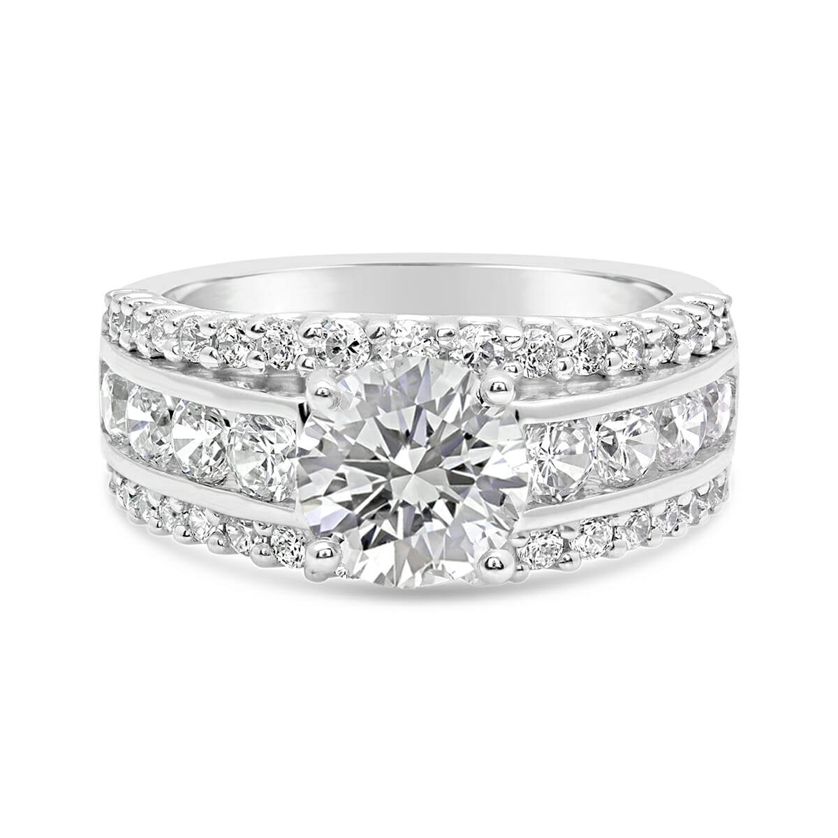 ring bands channel flat set collection the diamond engagment product engagement wm guys setting