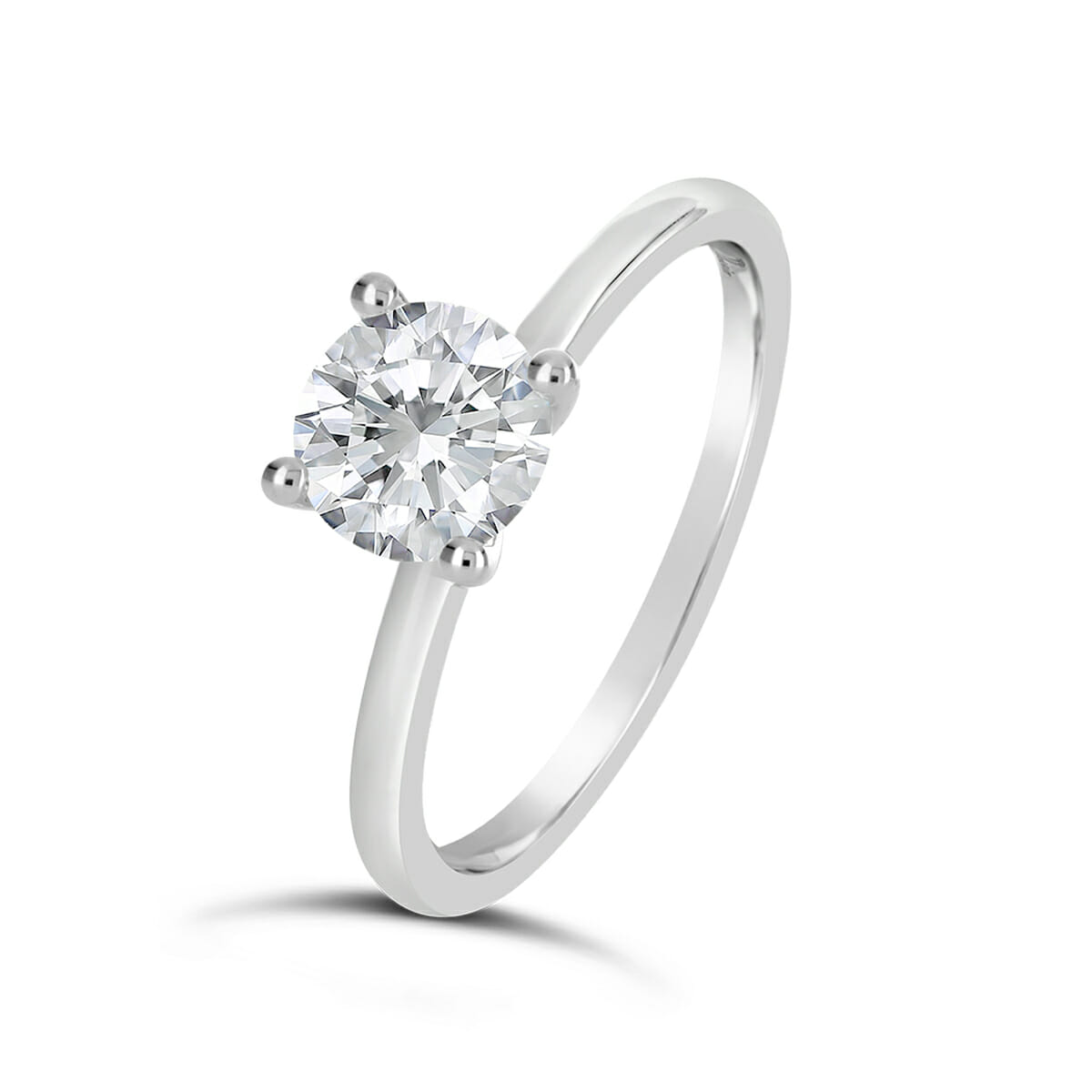 classic diamond solitaire engagement ring alessia. Black Bedroom Furniture Sets. Home Design Ideas