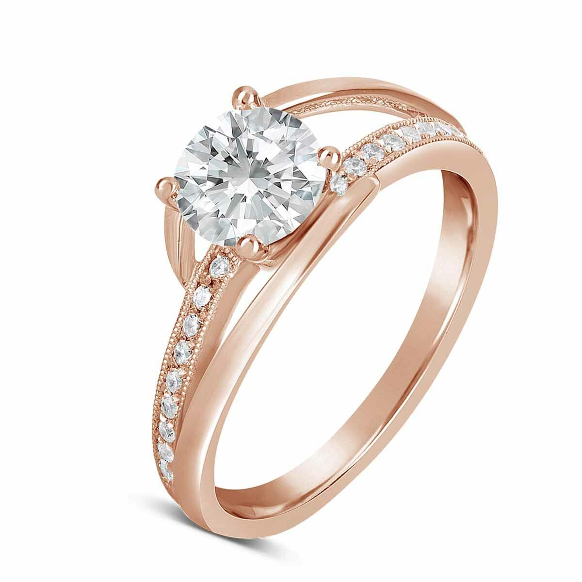 Modern Diamond Engagement Ring - The Diamond Guys Collection