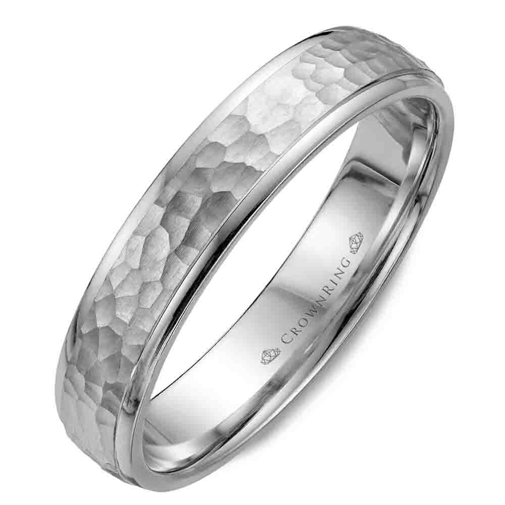 Mens Wedding Band.Men S Modern Wedding Band Crown Ring Collection