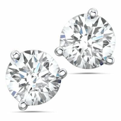 Diamond Stud Earrings for Mother's Day